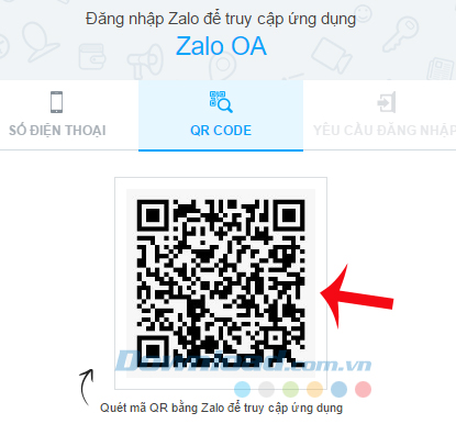 Quét mã QR Code