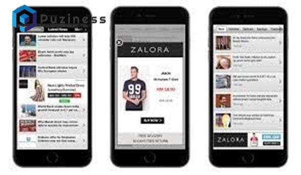 app bán hàng online zalora