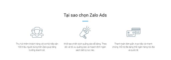 tại sao nên chạy quảng cáo zalo