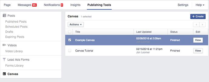 truy cập canvas từ page của bạn