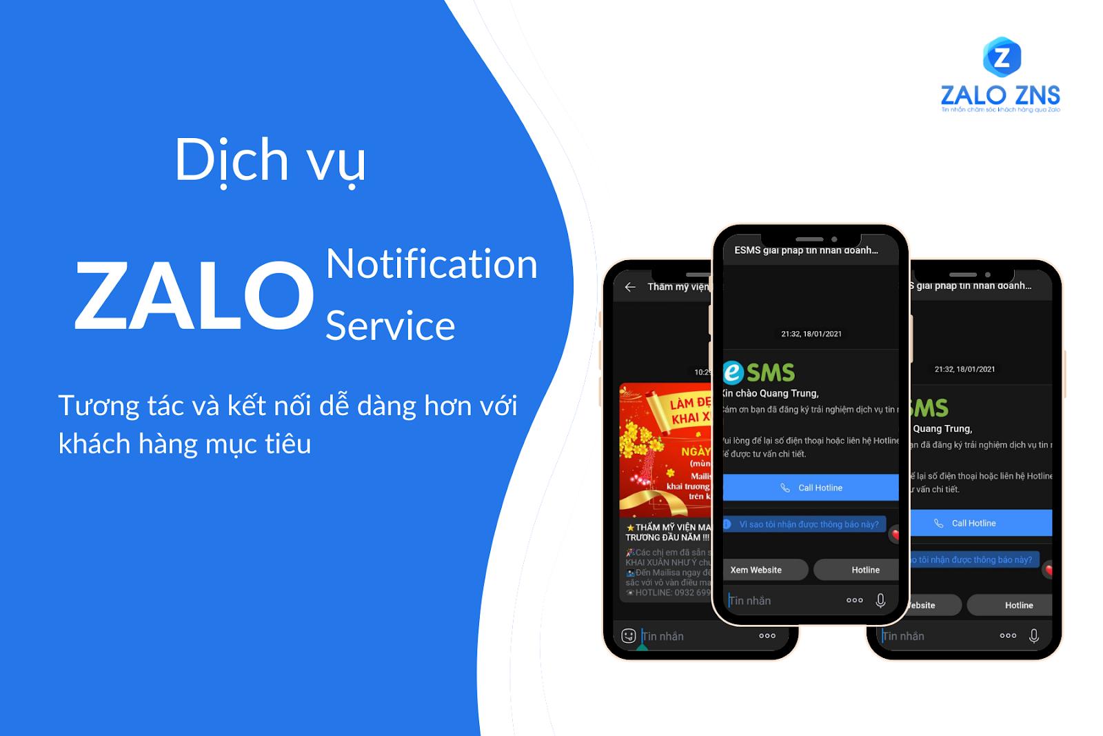 Zalo ZNS - Xu hướng Marketing Online hiệu quả năm 2021 | Tin nhắn chăm sóc  khách hàng qua Zalo