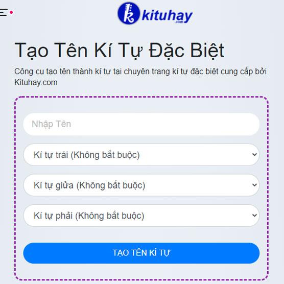 Mách bạn cách đổi ký tự đặc biệt Zalo trên điện thoại tại Kituhay.com